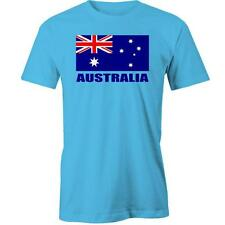 Australian Flag T-Shirt Day Aussie Australia Tee New