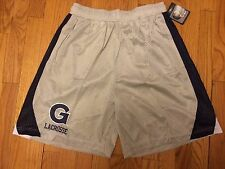 New Mens Lax World Georgetown Mesh Lacrosse Shorts