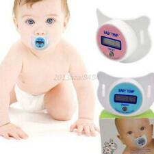 Infants Baby Kids LED Pacifier Thermometer Health Safety Temperature Monitor A60