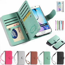 Luxury Magnetic Leather Wallet Case Cover For Samsung Galaxy S6 Edge Plus Note 5