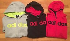 Adidas boys hoodie Nwt multiple colors and szs