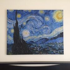 "Museum Quality Giclee Canvas Print ""Starry Night"" By Vincent van Gogh"