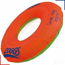 Zoggs Swim Ring Inflatable Swimming Pool Float Floatation Aid 2-3, 3-6 Years