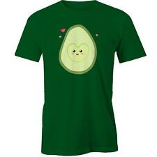 Cute Avocado Half In Love Girl T-Shirt Valentines Day Gift Idea Him Her Boyfrien