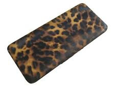 Chicastic Leopard Spots Animal Print Flat Hard Case Large Size Clutch Wallet
