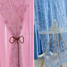 Colorful Room Door Divider Panel Drapes Valance Assorted Sheer Window Curtains