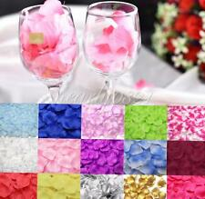 1000PCS Rose Flowers Petals Silk Fabric Wedding Birthday Party Table Decoration