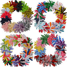 4-53Pcs Girls Baby Toddlers Hair Bows Clips Accessories Ribbon Headdress flower