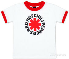 Toddler: Red Hot Chili Peppers - Asterisk Logo Baby T-Shirt White New Shirt Tee