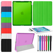 UltraThin Magnetic Slim Smart Cover PU Leather Case Stand For Apple iPad  2 3 4