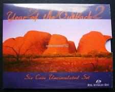 Royal Australian Mint 2002 Year of The Outback Six Coin Uncirculated Set