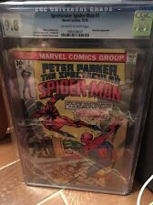 Peter Parker, The Spectacular Spider-Man 1 CGC 9.8 12/76 OW/White Pages - Movie!