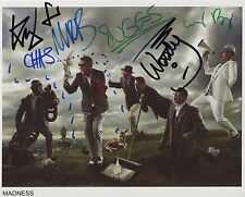 Madness FULLY  SIGNED Photo 1st Generation PRINT Ltd, No'd + Certificate /6