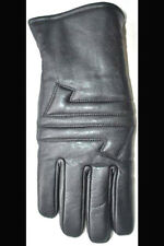 Motorcycle Gauntlet Leather Gloves WINTER COLD & WATER PROOF Hipora + Thinsulate