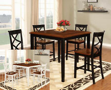 The Room Style 5-Piece Counter Height Kitchen/ Dining Room Table & Chairs Set