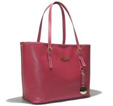 Cristiano Pompeo made in Italy luxury jet travel shopper saffiano leather pink