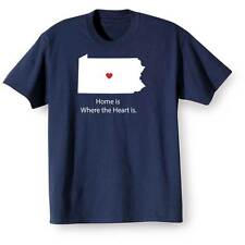 Home Is Where The Heart Is T-Shirt - Pennsylvania
