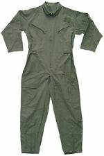OD Camouflauge Military Flight Suit Air Force Style Flight Coveralls Choose Size