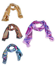Multi-Color Abstract Design Women's Scarf (WS-1017)
