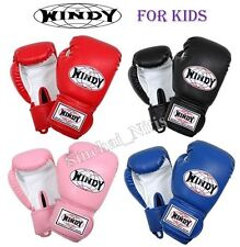 BOXING GLOVES FOR KIDS WINDY BSG MUAY THAI FIGHTING MMA  SYNTHETIC LEATHER