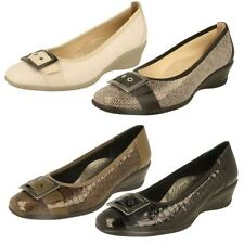 Ladies Padders Extra Wide Fitting Wedge Shoes Style - Juliet