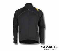 Spakct Cycling Fleece Thermal Long Jersey Winter Jacket-Power 3 Black New