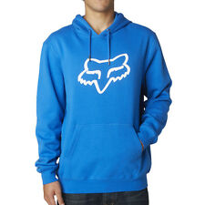Fox Racing NEW Mx Legacy Foxhead Motocross Winter Moto Blue Mens Pullover Hoodie