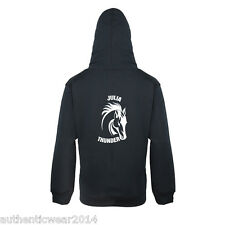Personalised Printed Born To Ride Horse Head Equestrian Adults Kids New Hoodie