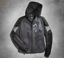 Men's Harley Davidson Carboy Hooded Riding Jacket