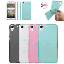 Soft Pudding Silicone Gel TPU Matte Back Cover Skin Case For HTC Smart Mobiles