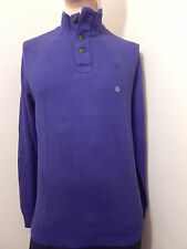 American Eagle Mens INK BLUE Mock Neck Sweater AE Solid T Shirt NEW XLT,LT,MT