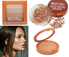 RC Bronzing Pears Shimmer Powder 3D colour Highlighter Contour Face Body Brown