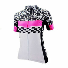 Women's Cycling Jersey Short Sleeve MTB Jersey Ladies Cycling Shirt Jacket Tops