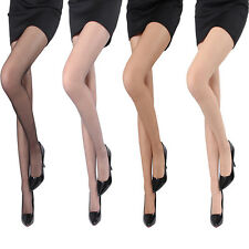 Pleasant Transparent Tights Pantyhose Stockings for Sexy Women Lady Open Toes