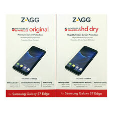 ZAGG InvisibleShield Original/HD Screen Protector for Samsung Galaxy S7 Edge MH