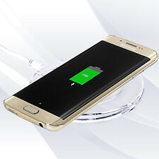 Wireless Charger Pad + Receiver Kit For Samsung Galaxy S4 S5 S6 S7 Charging Dock