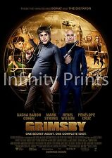 The Brothers Grimsby Movie Film Poster A A3 A4