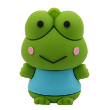 New 16GB-128GB Cartoon frog model usb memory flash stick pen drive U disk gift