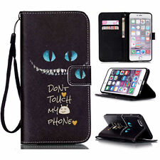 Flip Stand PU Leather Wallet Phone Case Cover Flip For iPhone & Samsung & Huawei