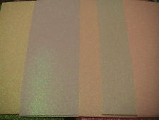 10 sheets A4 Glitter Card 5 pastel dovecraft 220gsm Card mix and match