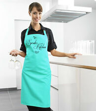 Apron - custom printed with your choice of name, personalised, choice of colours