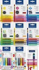 Watercolor Pencils Gelatos 9 version Faber Castell NEW