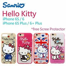 Sanrio Genuine Hello Kitty Hard Case for iPhone 6S/6 S Plus with Protector AU