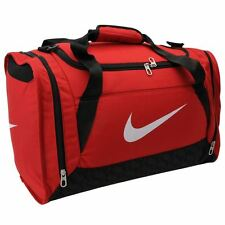 Nike Brasilia Grip Bag Holdall Sports Bag Red New With Tags