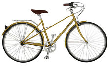 NEW Linus Bike Mixte 3 Speed in Cream, Gold, Rosewood, Sky Blue