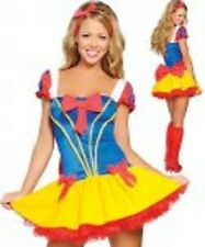 SNOW WHITE disney fairytale WOMENS costume FAIRY TALE costume size 8-10