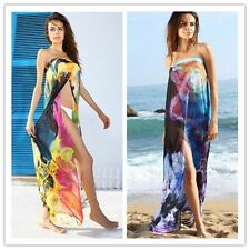 Women's Sexy Swim Suit Swimwear Bikini Bathing Suits Cover Up Beach Long Dress