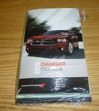 2013 DODGE CHARGER USER GUIDE OWNERS MANUAL SET w/case 13 NEW + SRT8