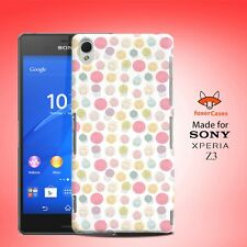Cupcake Happiness Pattern Case Cover for Sony Xperia