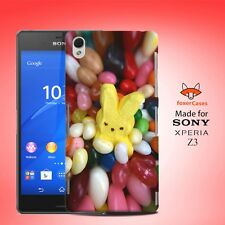 Cute Fun Candy Bunny in Jellybeans Case Cover for Sony Xperia